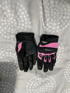 Womans motorcycle gloves