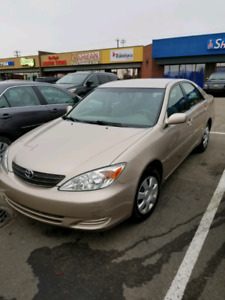 Toyota Camry 2004 low mileage