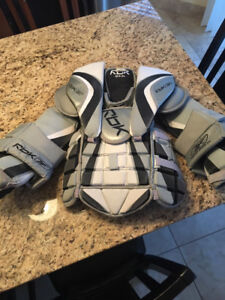 RBK, Junior Large Goalie Chest Protector. In excellent condition