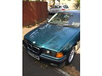 BMW 3 Series Saloon, P reg (1996), 1796cc,