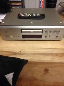 Denon. DVD player CDs