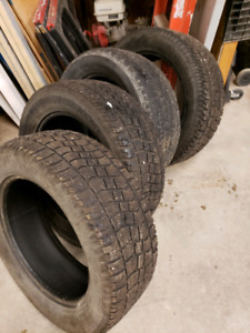 275/55R20 WINTERS - 4 tires