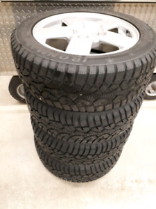 16 Winter tires new condition