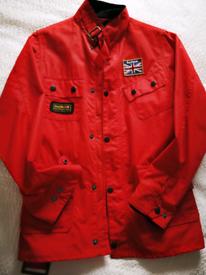 Barbour jacket.