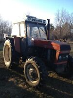 Zetor 4x4 tractor