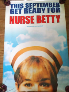 """Nurse Betty (2000) (Double sided) 27""""x40""""  Movie Poster"""