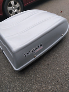 Roof luggage carrier + crossrails!