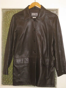 New Roots Leather Jacket, ladies size 10