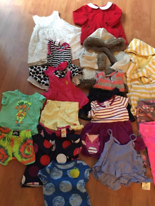 BABY GIRL CLOTHES FROM12 to 18 months!