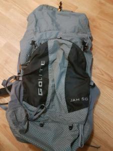 Golite jam 50 50L extreme lightweight ruck sack