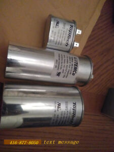 Dual run capacitors - NEW 25, 30, 35, 40, 45, 55, 60 $30-$40