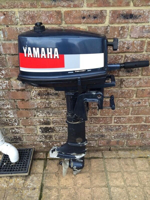 yamaha 4hp 2 stroke short shaft in bournemouth dorset