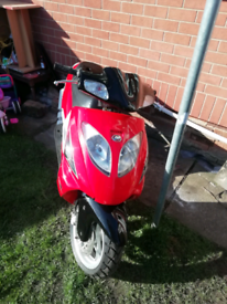Moped 125cc /scooter/motorcycle
