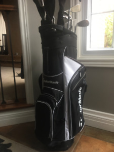 Complete Set, RH, Mens, Great Condition, Quality Clubs and Bag