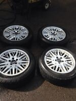 Volvo S80 rims and tires