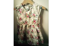 Next baby girl dress, 18-24m