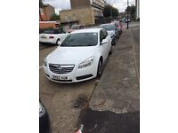 PCO REGISTERED UBER READY VAUXHALL INSIGNIA 2.0 AUTOMATIC DIESEL 2012 WHITE