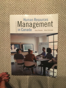 Human Resource Management in Canada with access unused code