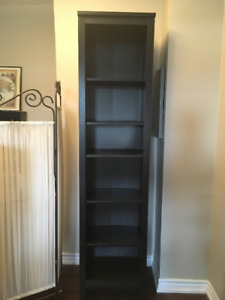 HEMNES BOOKCASE- BLACK BROWN