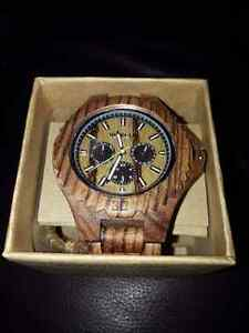 Men's wooden watch Windsor Region Ontario image 1