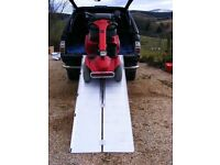 ALUMINIUM SUITCASE STYLE RAMPS FOR WHEELCHAIRS & MOBILITY SCOOTERS