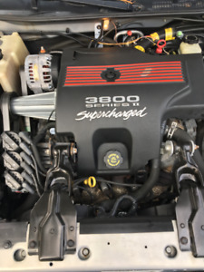 2000 grand prix gtp supercharged/remote start.one owner