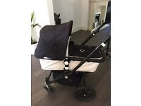 Bugaboo cameleon 3 pram & pushchair with rain cover