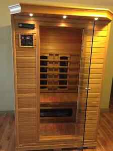 Infrared Sauna delivery in Kelowna included, Excellent Condition