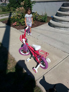Girls bicycle ages 3 and up