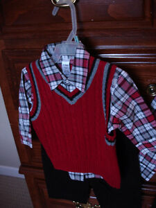 3 piece suite, size 2T new with tags. nice for christmas. St. John's Newfoundland image 2