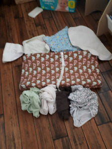 Baby change pad and covers, and change mats