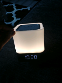 Musky DY28 Bluetooth Speaker & Alarm Clock With LED Lights