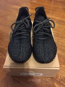 NEW Adidas Yeezy Boost 350 Pirate Black size 8 UA
