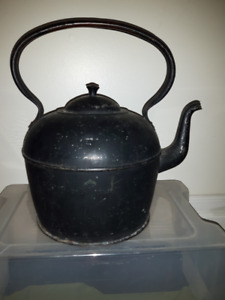 75 year Old English Kitchen Tin Kettle from Winchester!! Used ab