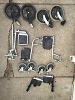 Wheelchair parts. Wheelchair wheels. Cheap