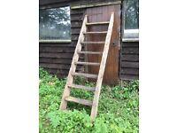 Barn loft ladders wooden old shabby chic