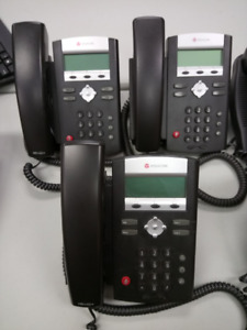 Polycom IP 331 PoE (Three Office Phones - Sold Together)