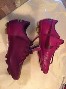 Used one season Boys outdoor soccer cleats