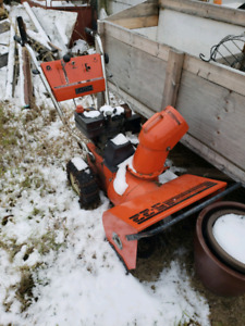 Free pick up of broken and unwanted snowblowers, mowers etc