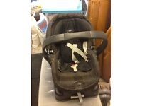 Mamas and papas pushchair/car seat travel system