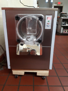Commercial Hard Ice Cream Machine 20L/h Stainless Steel