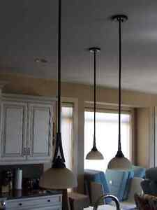 Counter and Dining room lights