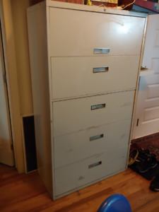 Steelcase 5 drawer filing cabinet
