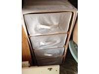 IKEA fabric chest of drawers