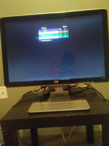 22 inch hp hdmi. Input tv/monitor