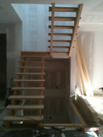 STAIRS AND HARDWOOD INSTALL!!