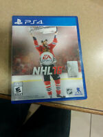 New copy of NHL 2016 for PS4
