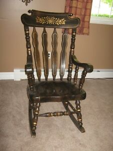 very solid rocking chair