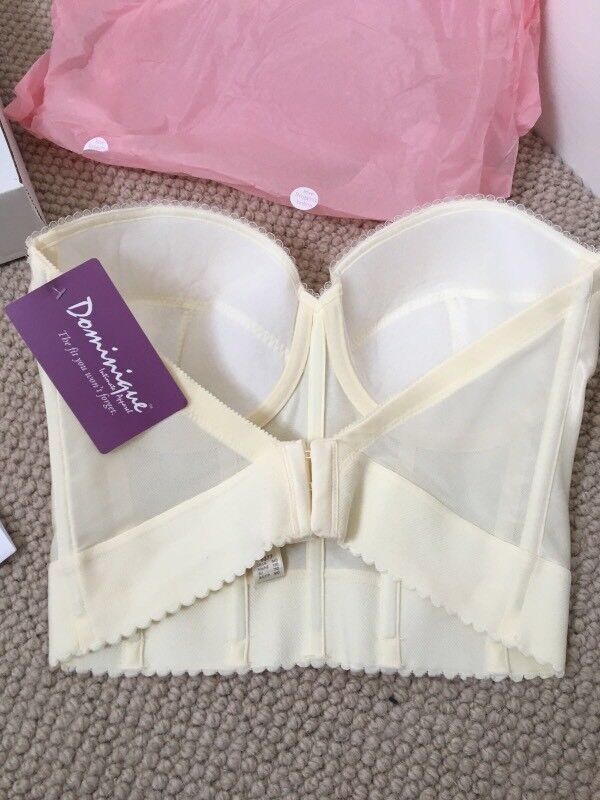 Low Back Satin Bra Bridal Wedding Dress 34d Brand New In