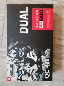 Asus dual rx 580 4gb gaming video card